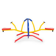 Gym Dandy Deluxe Teeter Totter Tt-320 Kid Safe See Saw Childrenand039s Playground Toy