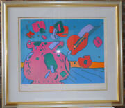 Peter Maxx Marilynand039s Flowers I Limited Edition Print Framed