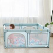 Baby Playpen Stainless Steel Tube Solid Oxford Fabric Cloth Children Ball Pool