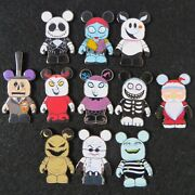 Disney Pins Nightmare Before Christmas Vinylmation Complete Set With All Chasers