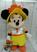 Disney Halloween Spooky Dancer Minnie Mouse Candy Corn Outfit New