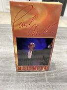 Paul Anka Live Music My Way Vintage Vhs Tape. New Sealed Impossible To Find Vtg