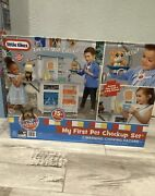 Little Tikes My First Pet Checkup Set Veterinarian Playset W/over 15 Accessories