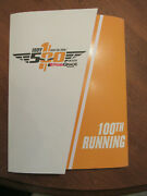 Indy 500 Collectible 2016 Program 100th Anniversary Running Plus Hot Wheel Vg