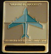 Flight To Success 2004 Cdw Georgia Division Air Plane Fly Pinback Lapel Pin Cc3
