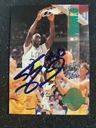 1993 Shaquille O'neal Calssic 4 Sport Rc Auto 321/500 Lsu Magic Lakers Heat