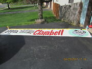 Clarabell Banner Of Howdy Doody Fame 16 ' Canvas 50s Appearance At Ellis Store