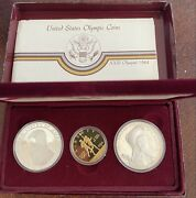 1983-1984 Olympic 3-coin