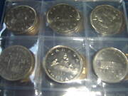 Complete Set Of Canada Dollars Coins 1968-2012 46 1 Coins In Uni-safe Book