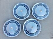 Vintage 1973 Cadillac Fleetwood Full Hubcap Wheelcover Center Cap Set Of 4 Caddy
