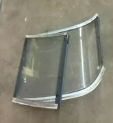 1998 Regal 1950 Lsc Boat Left Side Front Windshield Curved Glass With Door