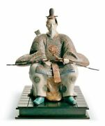 New Japanese Nobleman Ii Figurine. Limited Edition. 01012521 15h