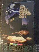 The Last House On The Left-1972 Arrow Limited Edition Blu-ray Steelbook Sealed