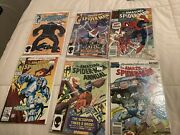Amazing Spiderman Marvel Lot 263 271 327 371 And Annuals 18 And 23