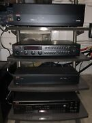Set Of 4 Adcom Components And Atlantis Stand Pick Up In Houston Only