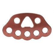 36kn Climbing Rigging Plate With 8 Holes Multiple Anchor Plate For Rock Climbing