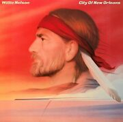 Willie Nelsonpre-owned Lp-city Of New Olreans..played Once..fc 39145...vg+/vg+