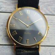 Vintage Rolex Cellini 18ct Solid Gold Menand039s Watch