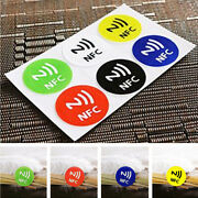Smart Nfc Tags Stickers Ntag203 For Samsung Galaxy S5 S4 Note 3 Nokia Sony