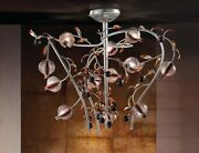 Ceiling From Ceiling Classic Metal Platinum And Glass Beads