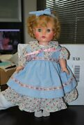 Rare Vintage Madame Alexander Rubber Doll 18 Great Condition Hard To Find