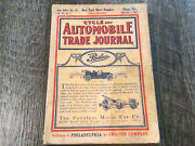January 1911 Cycle And Automobile Trade Journal Magazine Motorcycles