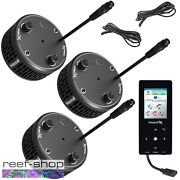Kessil Reef Trio Bundle 3 A360x Tuna Blue 1 Spectral Controller X 2 K-link Cable