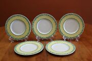 Villeroy And Boch Switch Summerhouse Acacia 7 Diameter Bread Plate X5 Guc