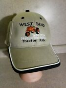 2006 West Bend Iowa Ia Sesquicentennial Tractor Ride Hat Allis Chalmers