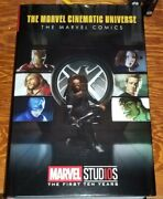 The Marvel Cinematic Universe Marvel Comics Omnibus,very Rare,near Mint, Limited