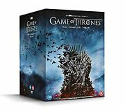 Game Of Thrones Complete Series Eight Season 1-8 Dvd Box Set New Free Shipping