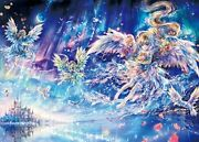 500 Piece Jigsaw Puzzle Scenery Seen Angels Who Are Masters Of Puzzles 38x53cm