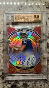 Andrew Luck 2012 Finest Atomic Refractor Rc Auto Red Refractors Bgs 9.5 10 9/10