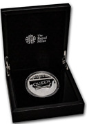Great Britain 2020 £10 Music Legends Queen Silver Proof 5 Oz Coin Coa Only 750