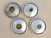 Oem 1964 Chevrolet Corvair Monza Set Of 4 Hubcaps Wheelcovers Center Caps Chevy