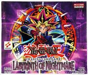 Good To Mint Yugioh Labyrinth Of Nightmare Complete Set 1st Ed. Read Descripion