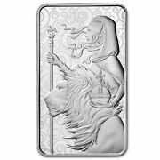 100 Oz Silver Bar - The Royal Mint Una And The Lion - Sku229176