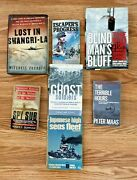 True War Stories Book Lot Of 7 Spy Sub Ghost Soldiers Blind Mans Bluff