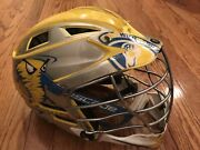 Cascade Cpxr Cpx-r Larosse Helmet Adjustable Yellow White Silver Mask Spr Fit