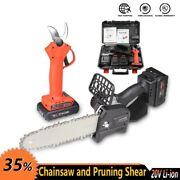 Electric Chainsaw Cordless Power Tools 800w Portable Cutting Pruning Home Diy