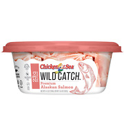Chicken Of The Sea Wild Catch 100 Natural Alaskan Salmon 4.5oz Cups 8 Pack