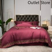 Egyptian Cotton Bedding Sets Cover Bed Sheets/elastic Band Fitted Sheet Set