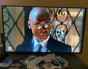Sony Rare- 55 Inch Xbr55x850c 4k Ultra Hd Active 3d Sony Tv - With Accessories