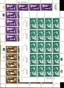Israel Stamp Sheets Musicians And Musical Instruments Of The Bible Holidays Mnh Xf