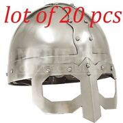 Antiquevmedieval Collectibles Reenactment Viking Mask Armour Helmet Replica
