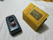 Federal 902 - 202a 600v 3 Wires Push Button Control Station Switch Open/close