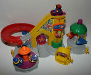 Fisher Price Little People Amusement Park Carnival Roller Coaster Rides Figures