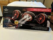 The Sharper Image Bbq Grill Light And Fan