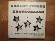 Jo-cur /cuca Lp Record/curley Fields Kentuckians/live At Showboat Lounge/vg