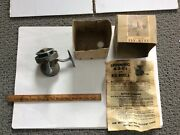 Vintage Fix-reel Spinning Reel W/ Box And Instructions / Swiss Made